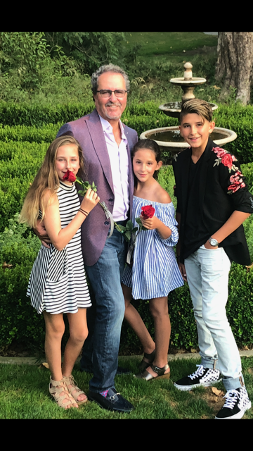 Jim Bellino with kids: Melania, McKenna, James Bellino